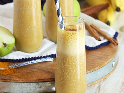 Apple Smoothie with Turmeric