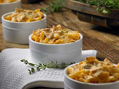 Artichoke Mac n Cheese