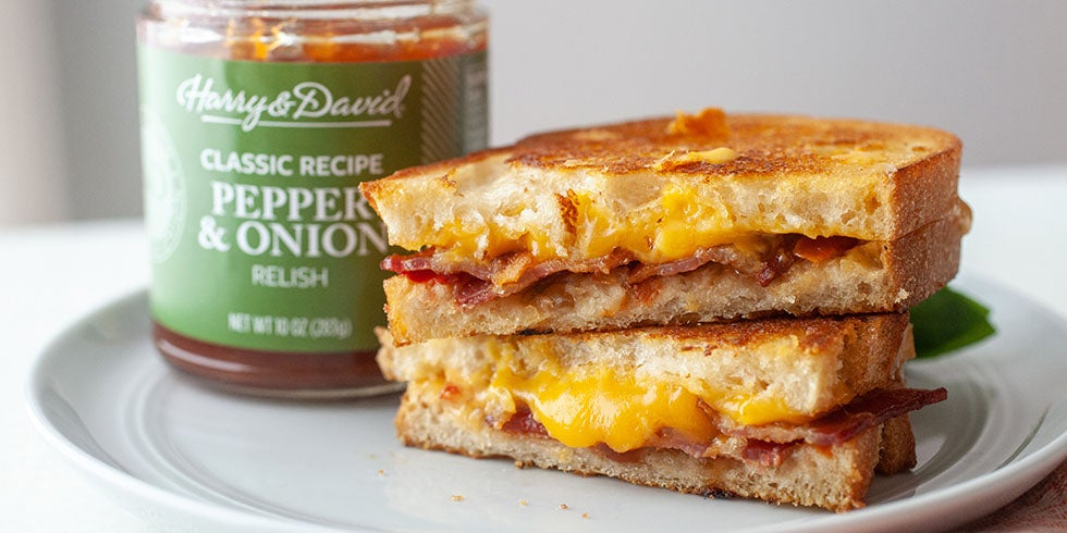 Bacon Cheddar Grilled Cheese Recipe