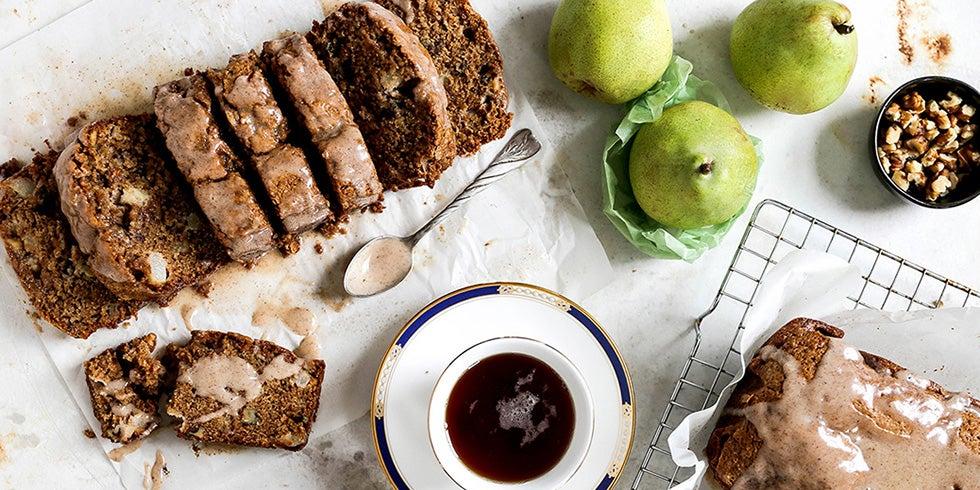 Chai Spiced Pear Bread