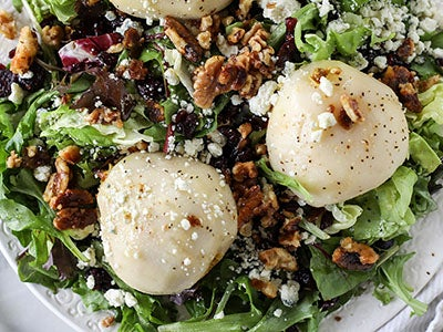 View Chardonnay Poached Pear Salad