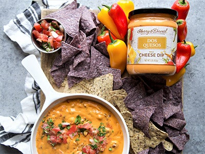 Green Chili and Chorizo Queso Dip