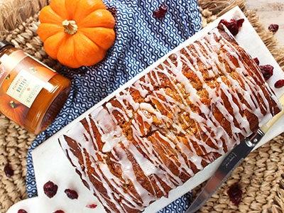 Cranberry Pumpkin Butter Bread