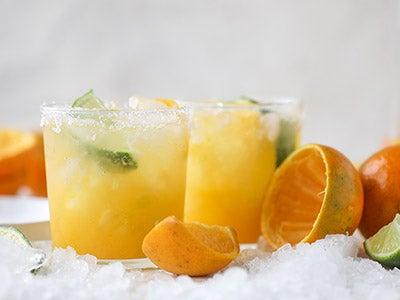 Honeybell Orange Margarita