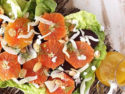 Cara Cara Oranges, Beets, and Fennel Salad