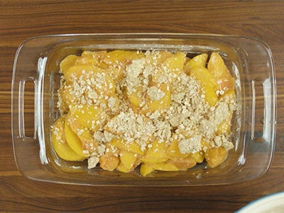 Perfect Peach Crisp Recipe