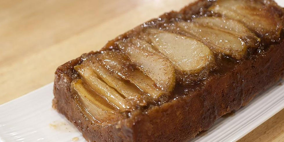 Upside Pear Coffee Cake