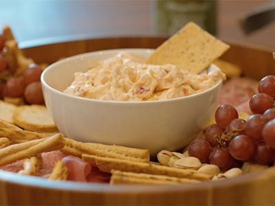 Pepper Relish and Cream Cheese Dip