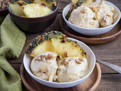 Three-Ingredient Pineapple Nice Cream