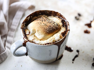 Warm and Cozy S'mores Mocha Recipe