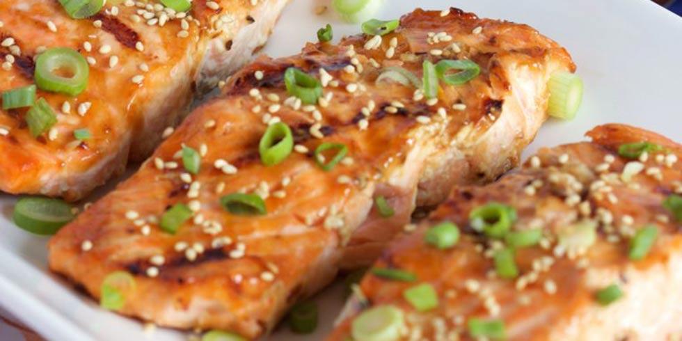 Griled Teriyaki Salmon